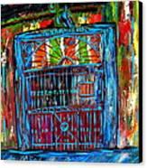 Preservation Hall Canvas Print by JoAnn Wheeler