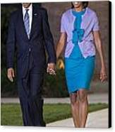 President And First Lady Canvas Print by JP Tripp