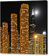 Presidential Towers Chicago Canvas Print by Christine Till