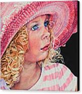 Pretty In Pink Canvas Print by Hanne Lore Koehler