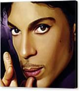 Prince Artwork Canvas Print by Sheraz A