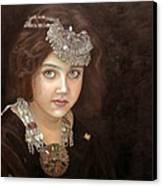 Princess Of The East Canvas Print by Enzie Shahmiri