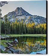 Pristine Alpine Lake Canvas Print by Robert Bales