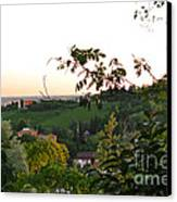 Prosecco Vineyards Canvas Print by Sarah Christian