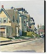 Prospect Street Canvas Print by Edward Hopper