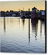 Providence Waterfront Canvas Print by Andrew Pacheco