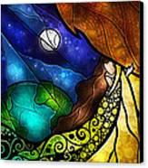 Psalm 91-4 Canvas Print by Mandie Manzano