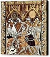 Psalter Of Saint Louis 13th C.. Abraham Canvas Print by Everett