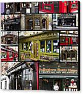 Pubs Of Dublin Canvas Print by David Smith