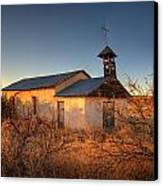 Pueblo Church Canvas Print by Peter Tellone