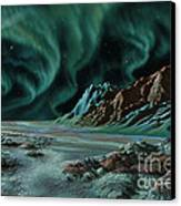 Pulsar Planets I Canvas Print by Lynette Cook