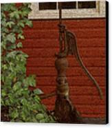 Pump Canvas Print by Jack Zulli