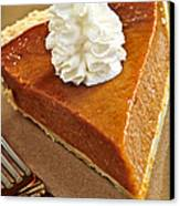 Pumpkin Pie Canvas Print by Elena Elisseeva