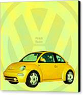 Punch Buggy Canvas Print by Bob Orsillo