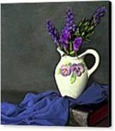 Purple Pardon Canvas Print by Diana Angstadt