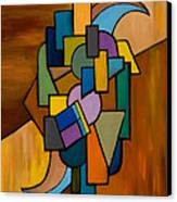 Puzzle IIi Canvas Print by Larry Martin