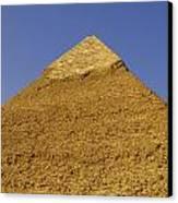 Pyramids Of Giza 06 Canvas Print by Antony McAulay