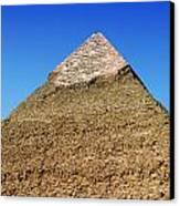 Pyramids Of Giza 15 Canvas Print by Antony McAulay