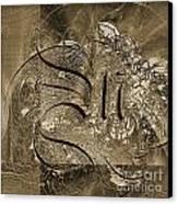 Q II Canvas Print by Yanni Theodorou