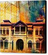 Quaid -e Azam House Flag Staff House Canvas Print by Catf