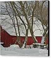 Quebec Winter Canvas Print by Joshua McCullough