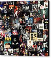 Queen Collage Canvas Print by Taylan Soyturk