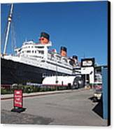 Queen Mary - 12123 Canvas Print by DC Photographer