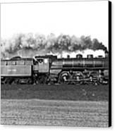 Queen Of Steam Canvas Print by Joachim Kraus