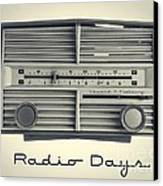 Radio Days Canvas Print by Edward Fielding