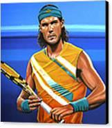Rafael Nadal Canvas Print by Paul Meijering