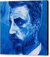 Rainer Maria Rilke Canvas Print by Sviatoslav Alexakhin