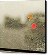 Rainy Day Perspective Canvas Print by MaryJane Armstrong