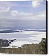 Rangeley Maine Winter Landscape Canvas Print by Keith Webber Jr