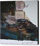 Rat Damage Canvas Print by Terry Perham