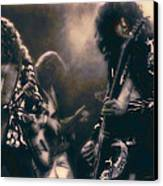 Raw Energy Of Led Zeppelin Canvas Print by Daniel Hagerman