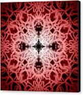 Red Canvas Print by Adam Romanowicz
