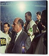 Red Auerbach Boston Celtics Legend Canvas Print by Retro Images Archive