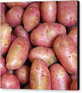 Red Potatoes Canvas Print by Carlos Caetano
