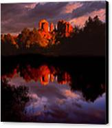 Red Rock Crossing Sedona Canvas Print by Ray Mathis