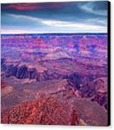 Red Rock Dusk Canvas Print by Mike  Dawson
