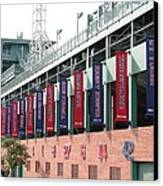 Red Sox Heroes Canvas Print by Sue  Thomson