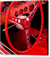 Red Vette Canvas Print by Phil 'motography' Clark
