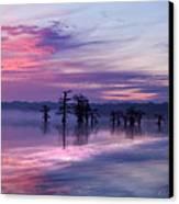 Reelfoot Lake Sunrise Canvas Print by J Larry Walker