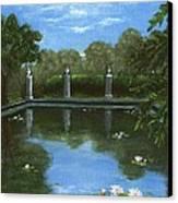 Reflecting Pool Canvas Print by Anastasiya Malakhova