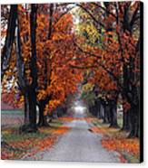 Reid's Orchard Drive Canvas Print by Wendell Thompson