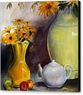 Reliable Loyalty Canvas Print by Jane Autry