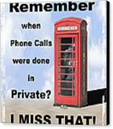Remember When . . . Canvas Print by Mike McGlothlen