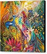 Remembering Yotvata Canvas Print by Elena Kotliarker