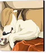 Rest Canvas Print by Veronica Minozzi