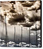 Resting Sailboats Canvas Print by Stelios Kleanthous